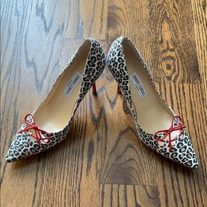Jimmy Choo leopard pumps